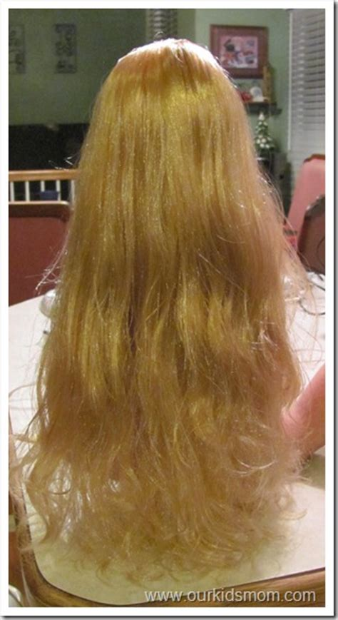 untangling american girl hair picture 5