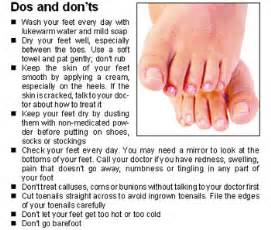 foot problems in diabetics picture 1