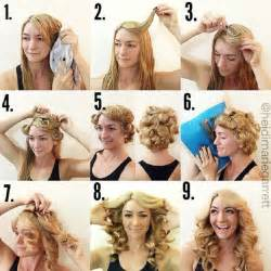 curly hair without curlers picture 5