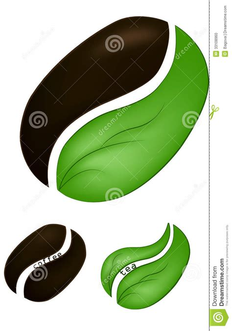 green coffee bean abstract picture 1