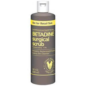betadine to remove hair picture 1