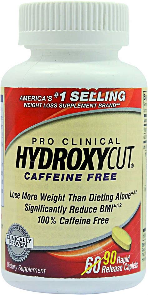hydroxycut caffeine free weight loss formula picture 5