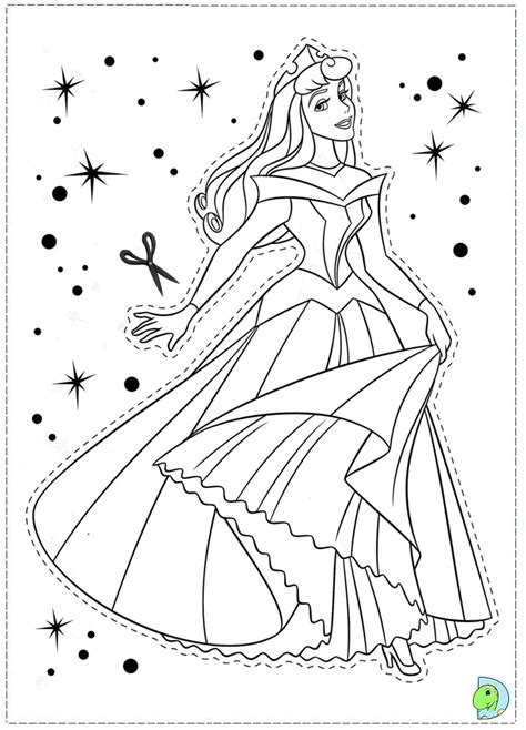 coloring pages sleeping beauty picture 3