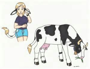 women transformed to cow picture 3