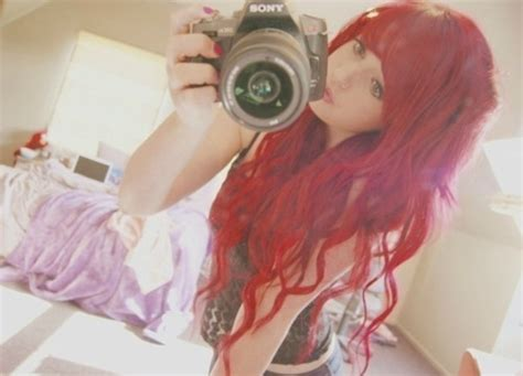 camera girl hair picture 14
