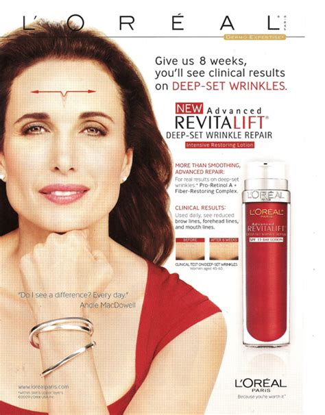 anti ageing commercial picture 6