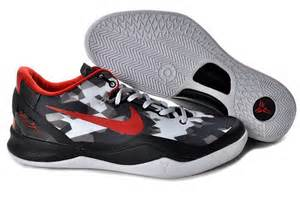 the cheap nike kobe vii white black red picture 15