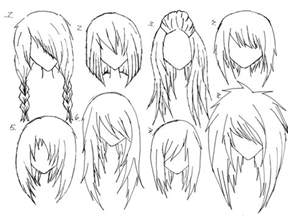 anime hair picture 2