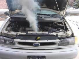 white coolant smoke picture 19