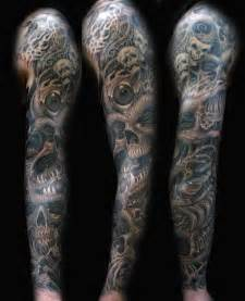 tattoos with smoke and skulls picture 7