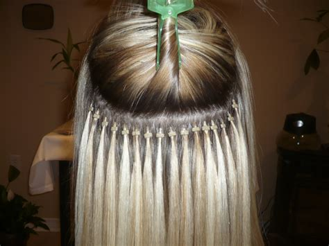 fused hair weaving picture 1