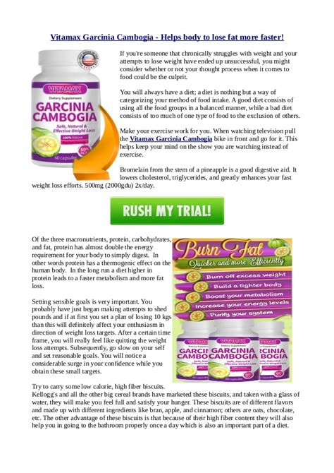 why can't you use garcina cambogia if you picture 3