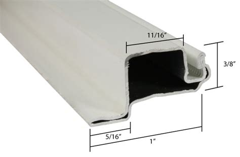 Aluminum lip frame material for window screens picture 4