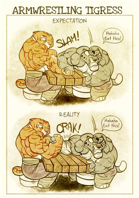tigress muscle growth stories fanfiction picture 6