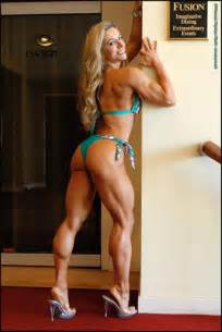 female muscle calves legs picture 9