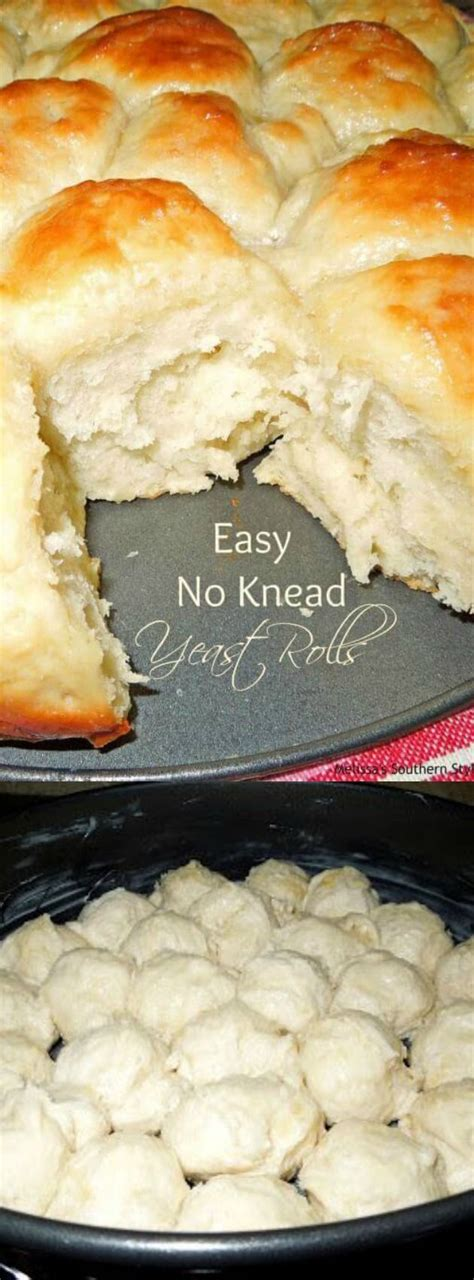 southern style homemade yeast rolls picture 6
