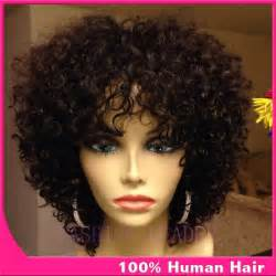 Baby curl human hair exyensions picture 2