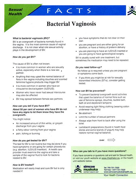 Information on bacterial vaginitis picture 1