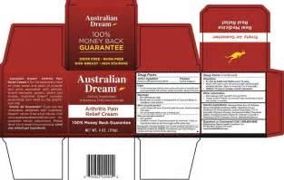 australian dream arthritis cream alternative picture 9