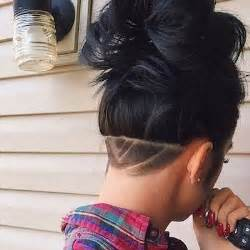womens long hair shave picture 14