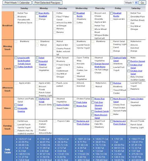 free diet and exercise plans picture 10