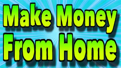 make money from home picture 7