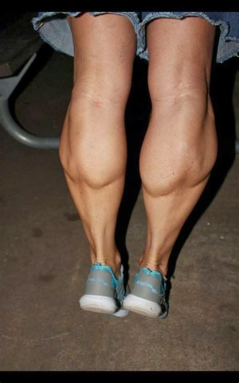 muscular calves and thighs women club picture 1