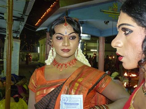 men dressed in saree picture 6