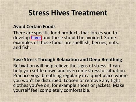 can stress cause hives picture 2
