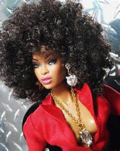 barbie's big hair picture 1