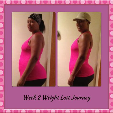 two week weight loss picture 1