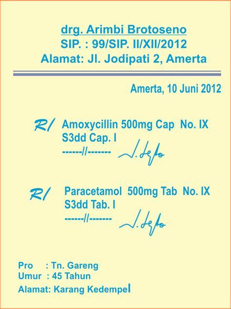 contoh penulisan resep dokter obat tramadol picture 5