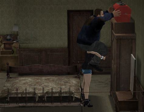 female lift and carry 3d art picture 4