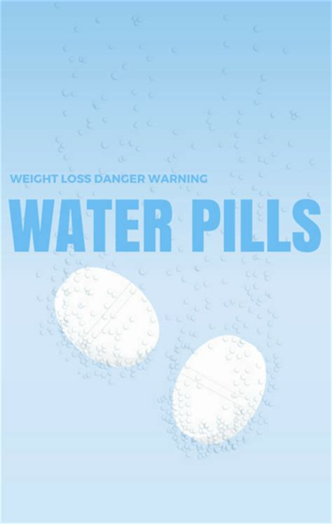 how are water pills effective in permanent weight picture 4