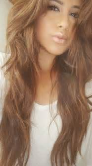 Light brown hair over red picture 5