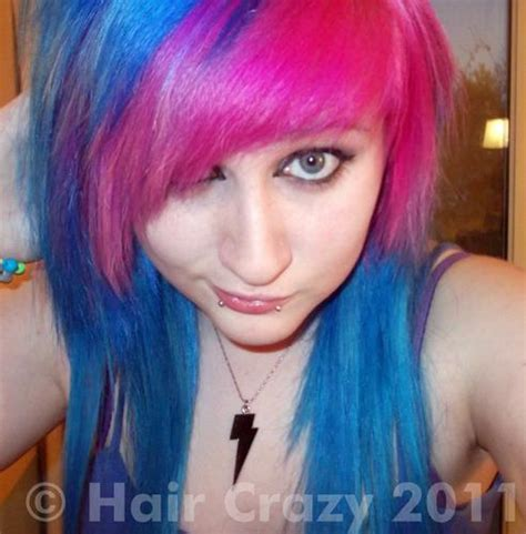 crazy colored hair picture 9