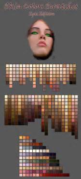 color swatches skin tones picture 2