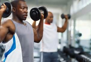 High blood pressure and exercise with weights picture 1