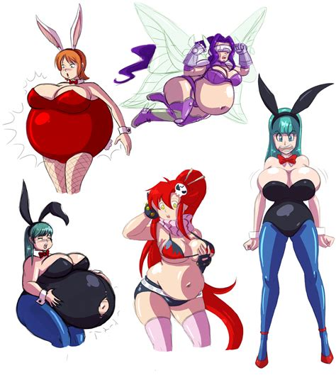 anime body inflation picture 3
