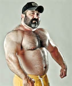 big muscle bear picture 5