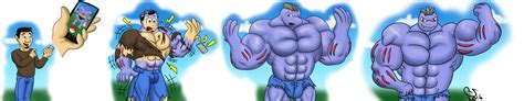 flash male furry grow picture 14