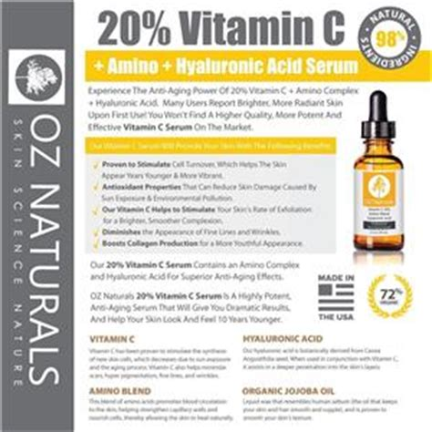 dr oz anti aging vitamin c and hydraulic acid picture 6