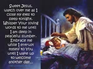 jesus sleep picture 1