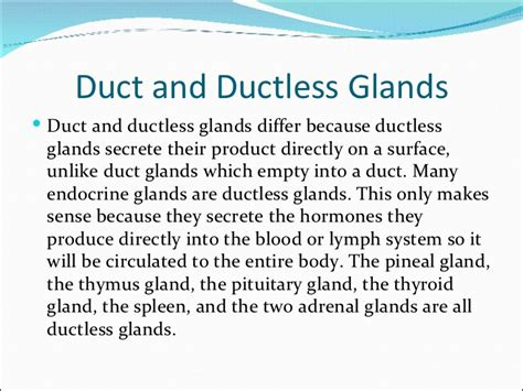 ductless gland picture 3