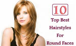 best hair choices for round faces picture 5