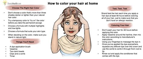 coloring hair at home picture 2
