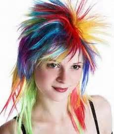 colored hair styles picture 9