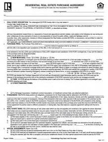 area edition residential purchase agreement and jointescrow picture 1