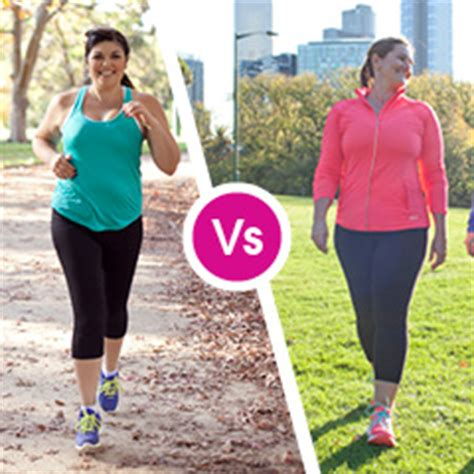 walking vs running weight loss picture 9
