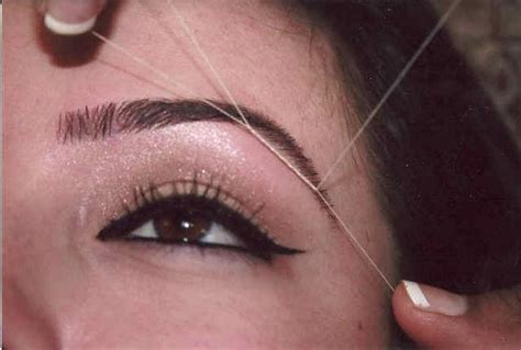 eyebrow threading teeth picture 5